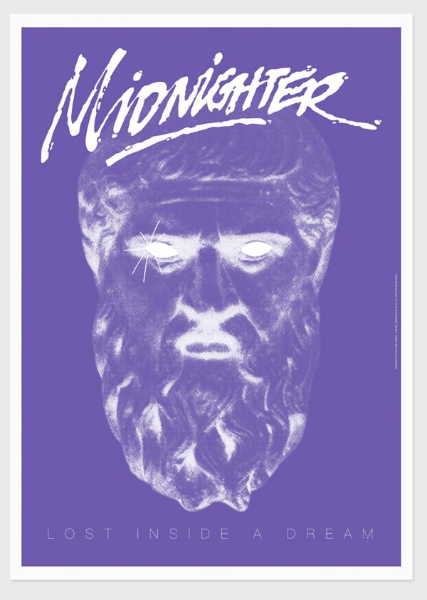 MIDNIGHTER - Album Artwork by Daniel Annbjer, via Behance
