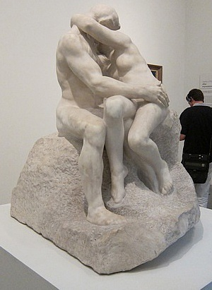 """Auguste Rodin, """"The Kiss"""", 1881. Marble."""