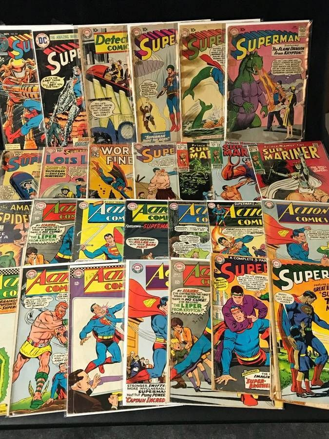 HUGE Lot of 50 DC MARVEL /& INDEPENDENT Comic Books Modern-Copper Age Comics