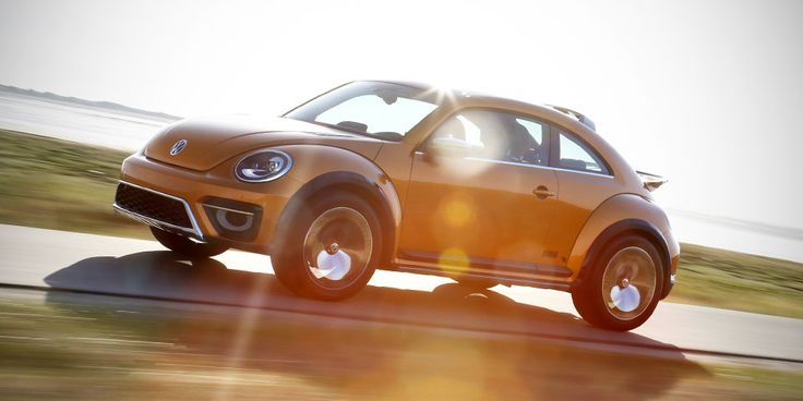 Fun in the Sun: Volkswagen Beetle Dune Concept Car Takes to the Road - VWVortex