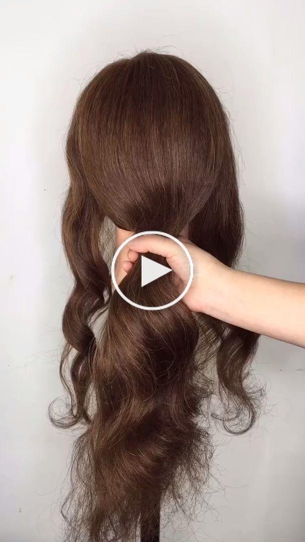 Hairstyles For Long Hair Videos In 2020 Long Hair Styles Hair Styles Hair Tutorial