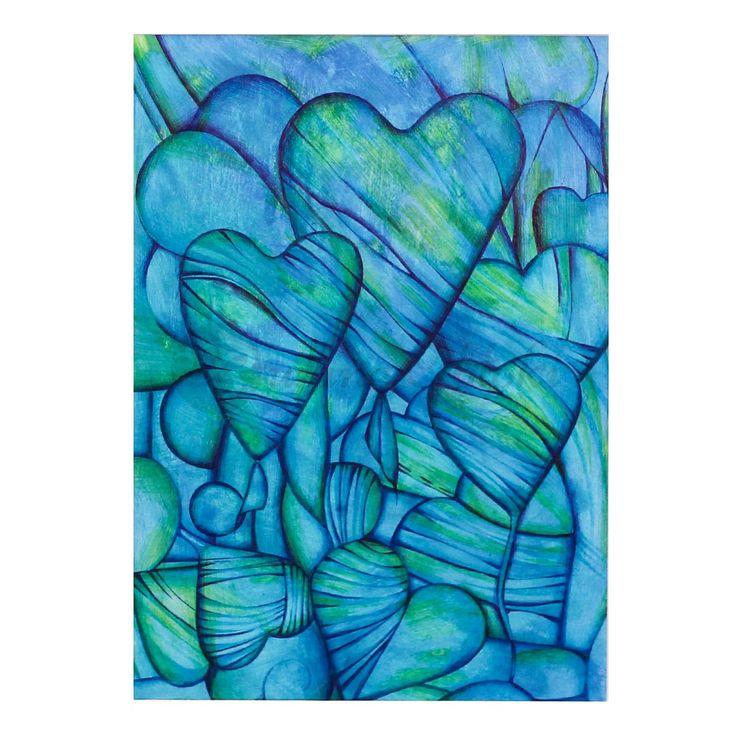 Bukiet od serca | Rysunek | 29,7 x 21 cm