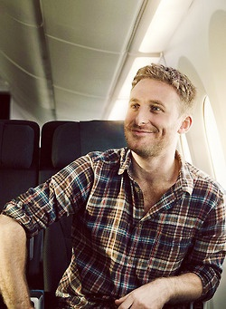 Dean O'Gorman in a Plaid Shirt. Two of my favorites. Can't. Handle. It.