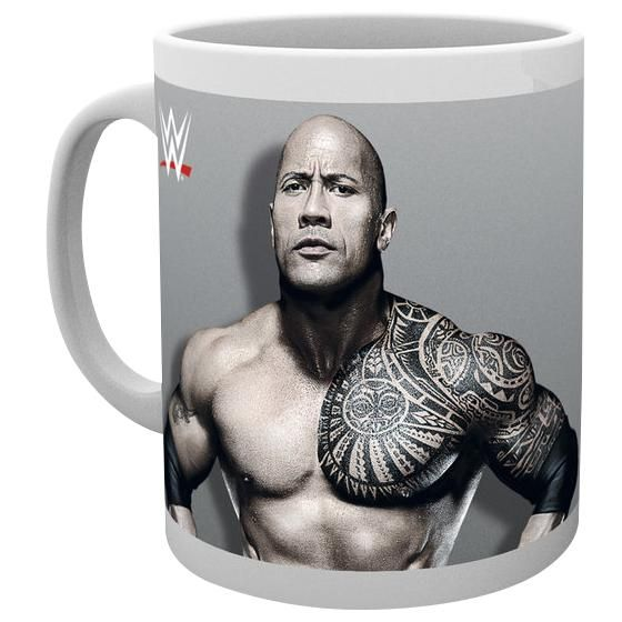 "Tazza in ceramica ""The Rock"" del brand #WWE con stampa. Capienza: 0,3 l."
