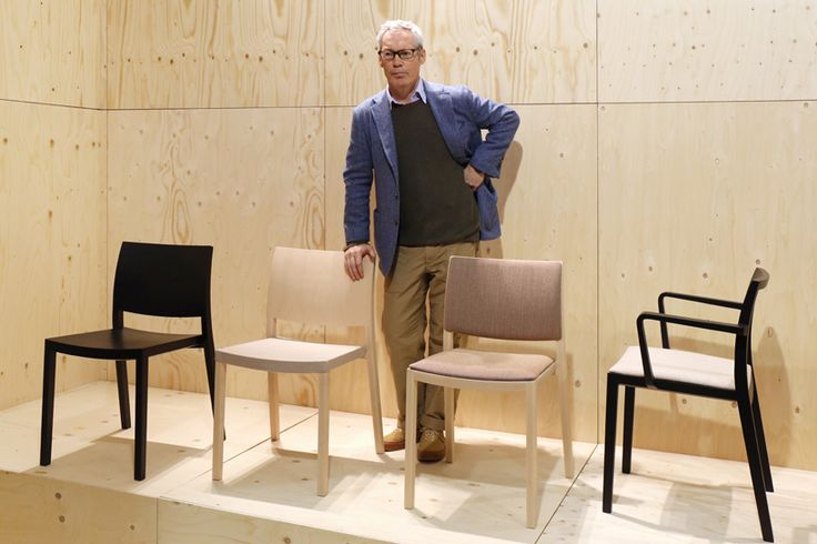 the designer's collection for andreu world is characterised by its pictorial form and practical sensibility.