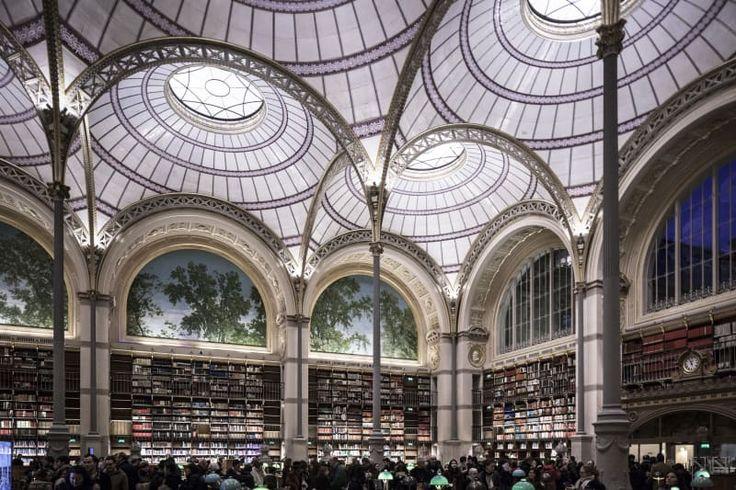 Henri Labrouste, Davide Galli · Bibliothèque Nationale de France, 1854