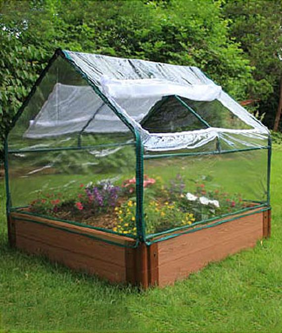 20 Brilliant Raised Garden Bed Ideas You Can Make In A: 1000+ Ideas About Pvc Greenhouse On Pinterest