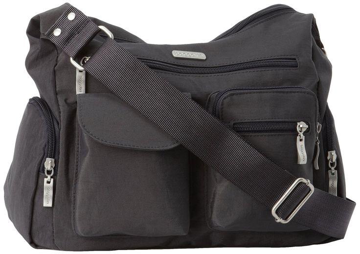 Amazon.com: Baggallini Everywhere Travel Crossbody Bag, Black Cheetah, One Size: Shoes