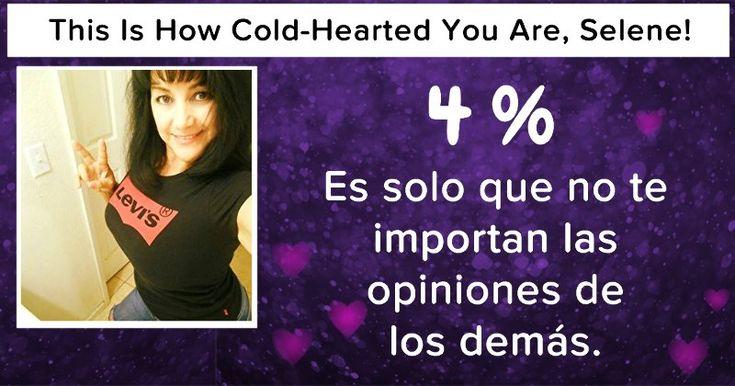 ¿Cómo de frío tienes el corazón?