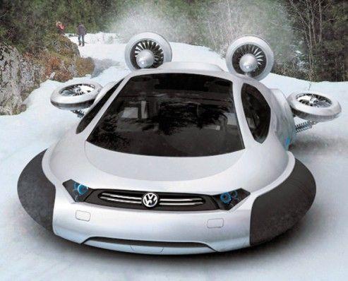 Volkswagen Aqua Concept: Hydrogen Fuel Cell Hovercraft