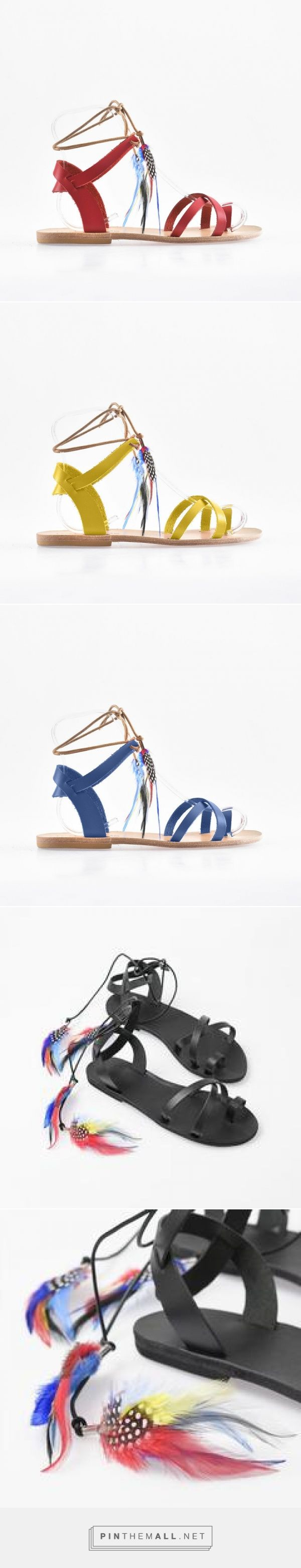 Calypso Tropicana leather sandals – Love From Cyprus - created via https://pinthemall.net