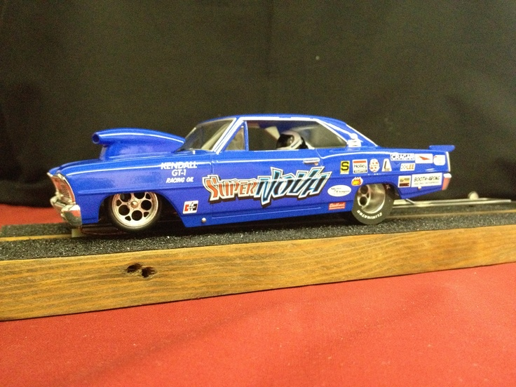 1 24 Scale Nova Drag Slot Car We Race On Our Scale 1 8 Mile Drag