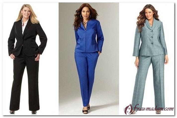 красивая стильная женская одежда больших размеров