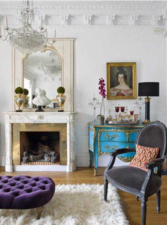 Wall Colour Inspiration: 17 Best Ideas About Parisian Apartment On Pinterest