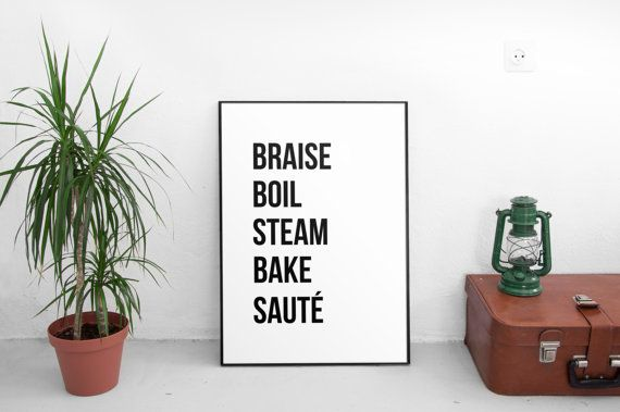 Printable Kitchen Decor Prints Print Home Decor