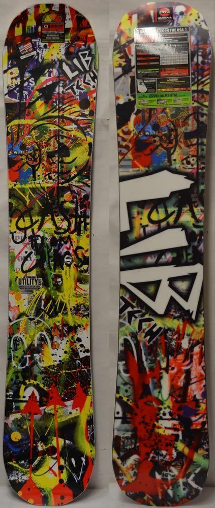 Snowboards 93825: 16 17 Lib Tech Utility Knife Men S Snowboard - 154 Cm *New* -> BUY IT NOW ONLY: $287.95 on eBay!