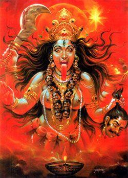 Meeting Kali in Kathmandu by @lonemorch at Transformation Goddess