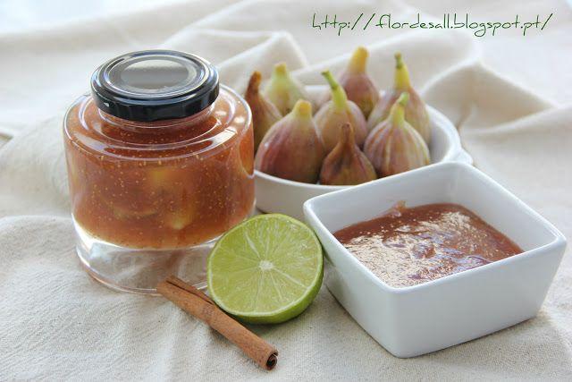 Flor de Sal: Doce de Figo com um toque de Lima e Canela