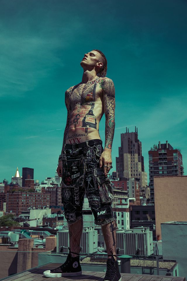 Machine Gun Kelly - Inked Magazine