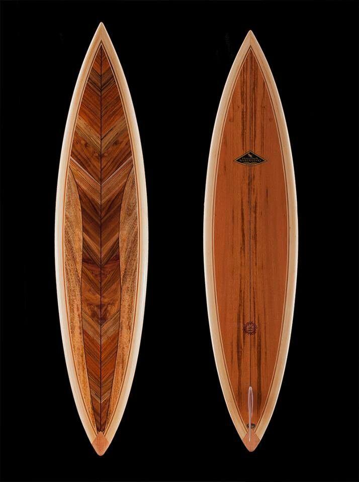 Koa Mini Surfboard