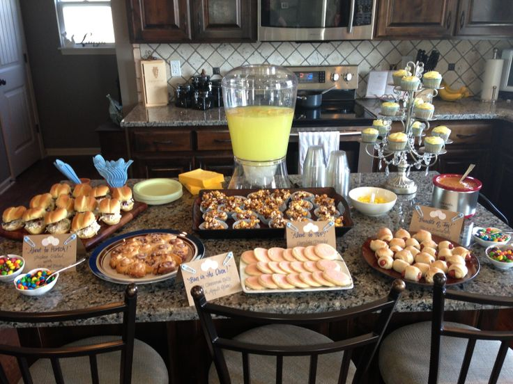 Sweet As Can Bee Baby Shower Heres My Themed Food Spread Cant Forget To Sprinkle Bees Around