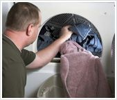 What stops a dryer tumbling?