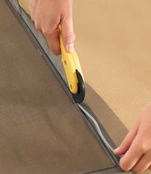 How To: Replace a Window Screen