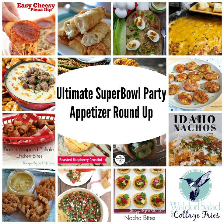 If you're wanting to throw down a memorable Super Bowl Party this year; grab one of these touchdown-worthy appetizers below. GO FALCONS!!