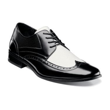 1940s Mens Clothing: Gangster and Zoot Suites Inspired Fashions - Terry's first choice Whitby stacy adams whitby 24809 Mens wing tip oxford leather upper  $85.00