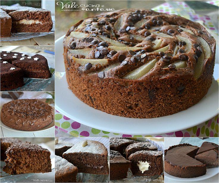 Raccolta di torte al cioccolato facili e golose