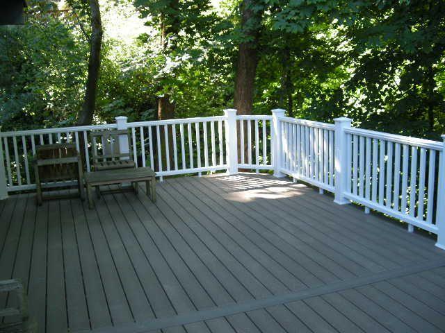 High Deck Railing Ideas