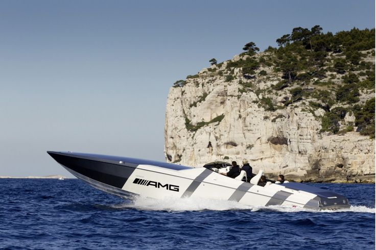 cigarette boats pictures   Cigarette AMG Electric Drive boat concept inspired by the Mercedes ...