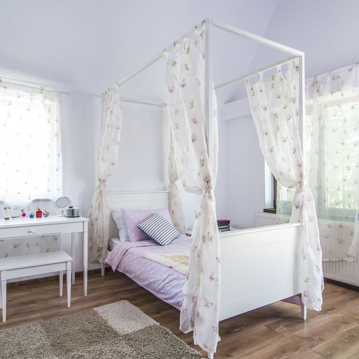 Canopy Four Poster Bed 113 best girl's bedroom images on pinterest | 3/4 beds, four