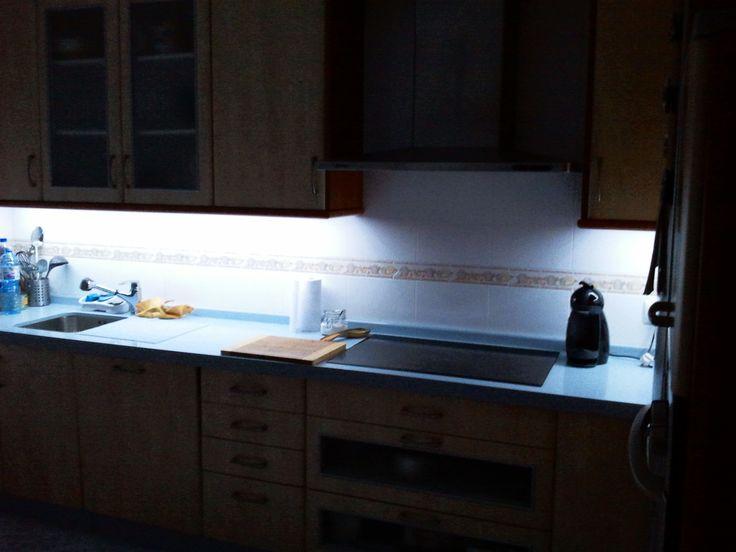 25 best 25 ideas para iluminar tu cocina con led images on - Iluminar con led ...