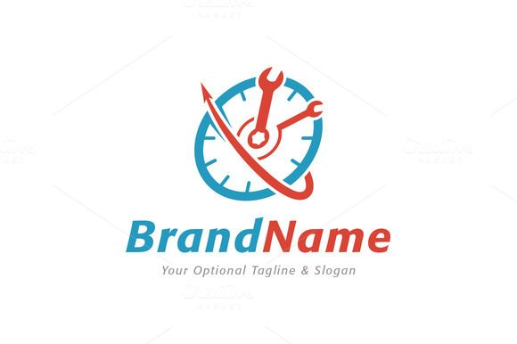 For sale. Only $29 - circle, fast, solution, arrow, cycle, speed, maintenance, tool, mechanic, repair, quick, clock, time, handyman, wrench, fix, hour, minute, meter, spanner, haste, logo, design, template,