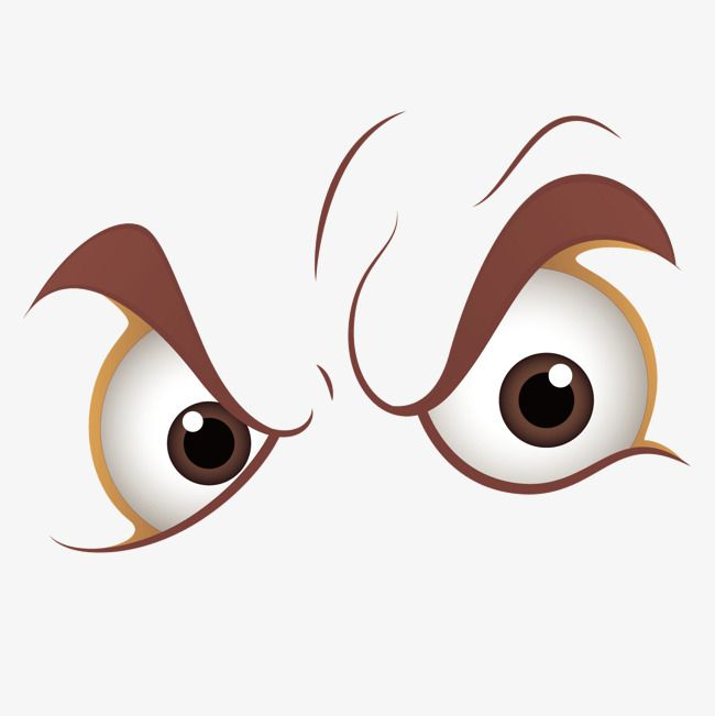 Vector Brown Cartoon Angry Eyes Look Eyes Clipart Vector Brown Png Transparent Clipart Image And Psd File For Free Download Eyes Clipart Angry Eyes Clip Art