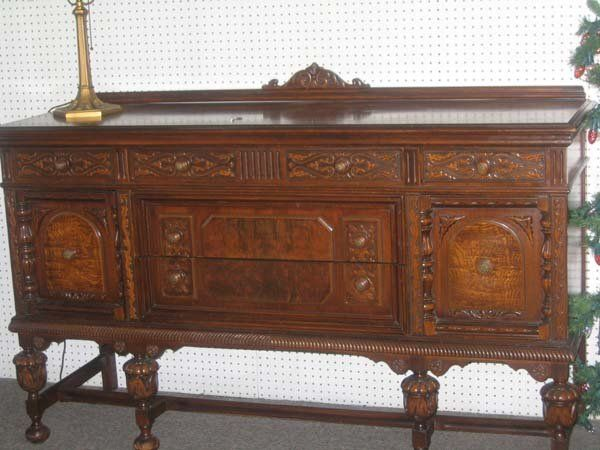 jacobean carved dining 1900   204  JACOBEAN STYLE DINING ROOM SET  WALNUT. 48 best Jacobean Furniture images on Pinterest   Jacobean  Antique