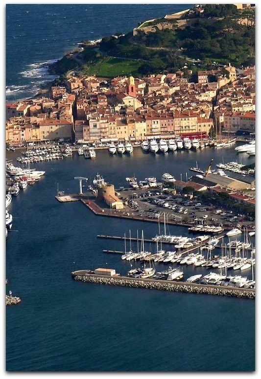 Aerial view..........St Tropez.................... Photo by mariechmura
