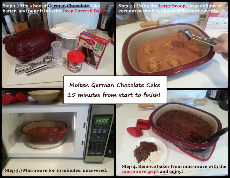 Pampered Chef Lava Cake Recipe