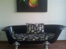 Badewannensofa Couch alte Badewanne
