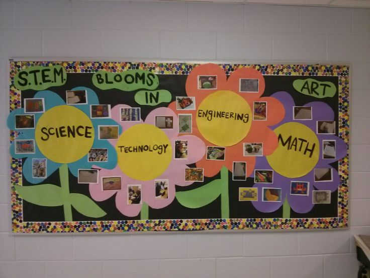 STEM bulletin board artwithmsk.com