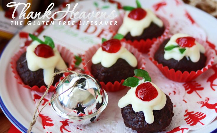 Nigella Christmas Cake Decoration : Nigella s Christmas Puddini Bon-Bons; Made From Decadent ...