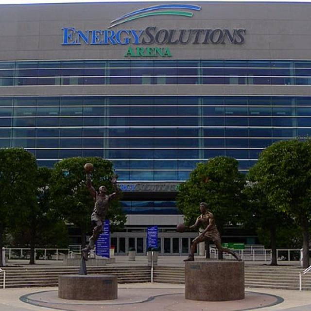 Energy Solutions Arena, Salt Lake City, Utah