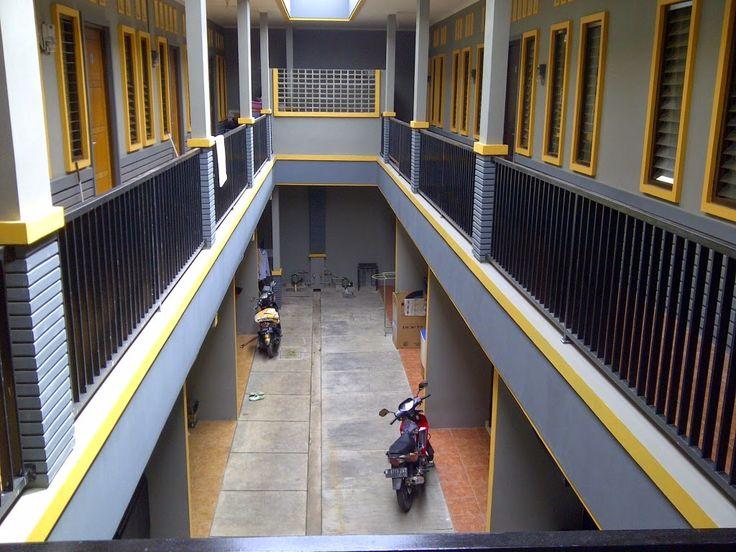 Desain Rumah Kontrakan 2 lantai