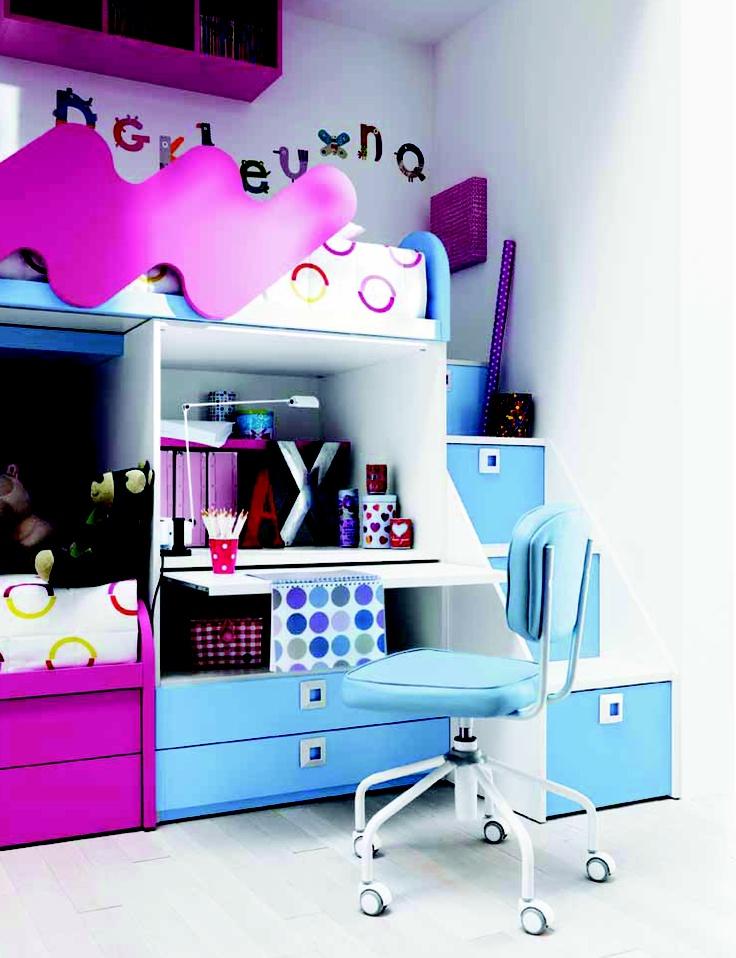 129 best images about kamer jara on pinterest loft beds playmobil and wands - Loft bed met opbergruimte ...