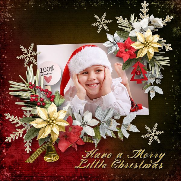 *A Merry Little Christmas* by Feli Designs   https://www.digitalscrapbookingstudio.com/collections/a/a-merry-little-christmas-by-feli-designs/  save 30% - 60%  RAK for a friend Lydie