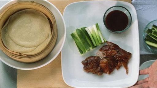 Chinese Pecking Duck Pancakes
