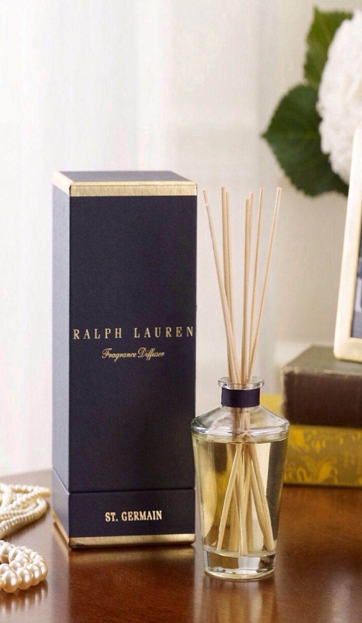 Pied-a-Terre diffuser - Ralph Lauren Home Home Fragrance - best smell ever