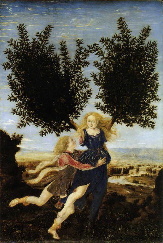 Piero del Pollaiolo Apollo e Dafne, 1470-1475 circa