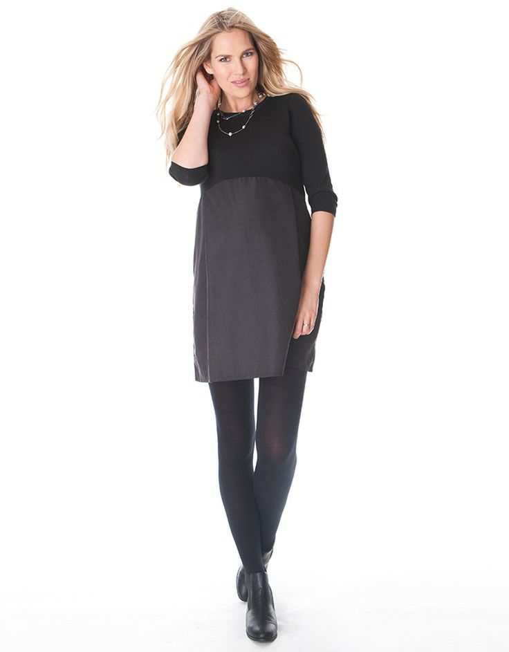 Seraphine Maternity Lynn Color Block Dress